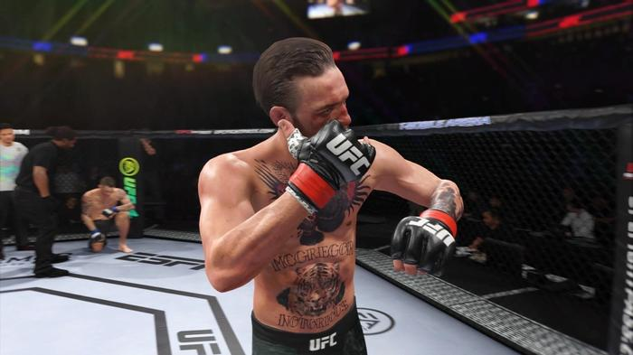 UFC 4 McGregor Poirier UFC 257