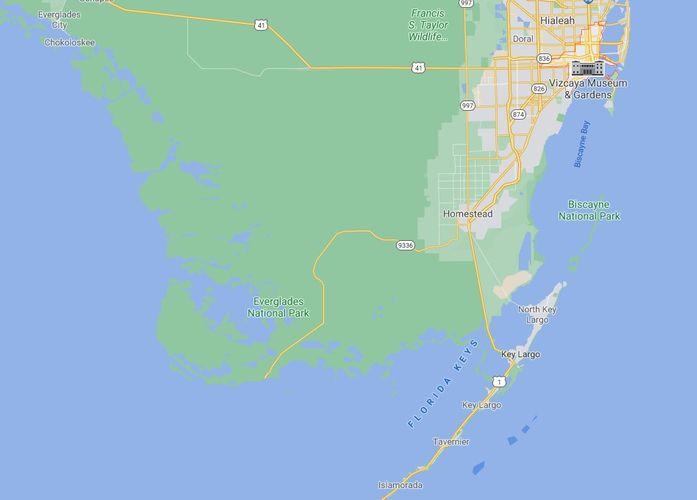 South Florida Google Maps