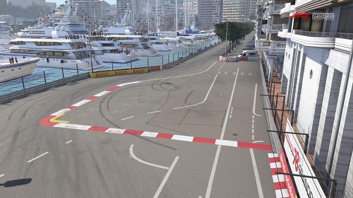 Monaco GP Turn 10 11 Nouvelle Chicane