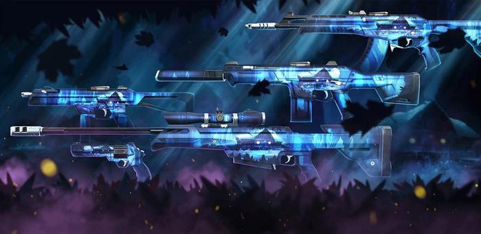 Valorant Season 2 Act 3 New skins Silvanus Weapon Bundle