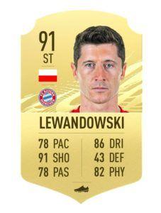 lewandowski FIFA 21