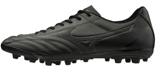 Best astroturf football boots Mizuno product image of a single black boot