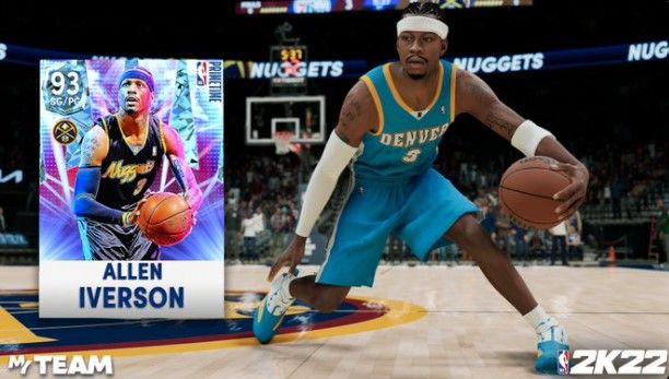 Allen Iverson in NBA 2K22