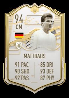 Lothar Matthaus Icon SBC FUT 21