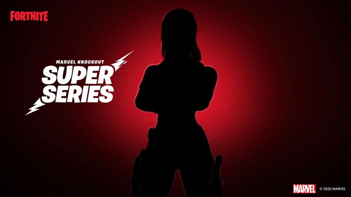 fortnite marvel knockout super series black widow reveal
