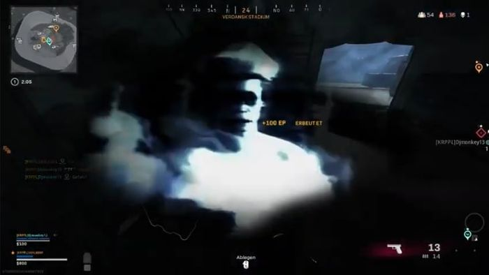 warzone jumpscare