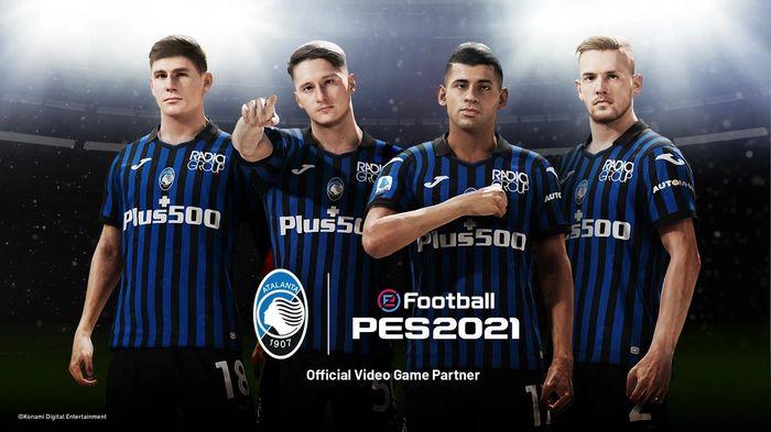 pes 2021 atalanta partnership exclusive