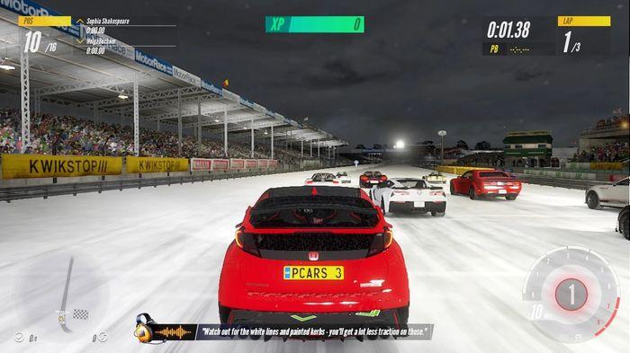 Project CARS 3 night race