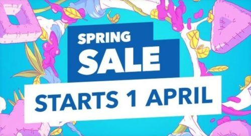 spring sale ps store