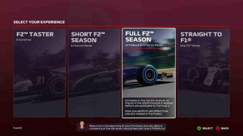 F1 2020 Career F2