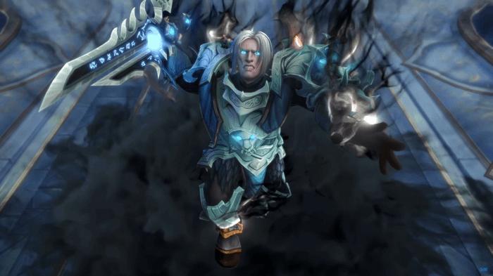 WoW Shadowlands Anduin Wrynn Death Knight