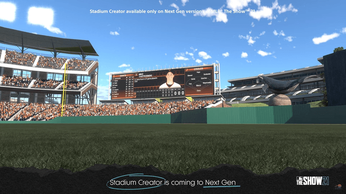 STADIUM CREATOR: Players will be able to make the ballpark of their dreams