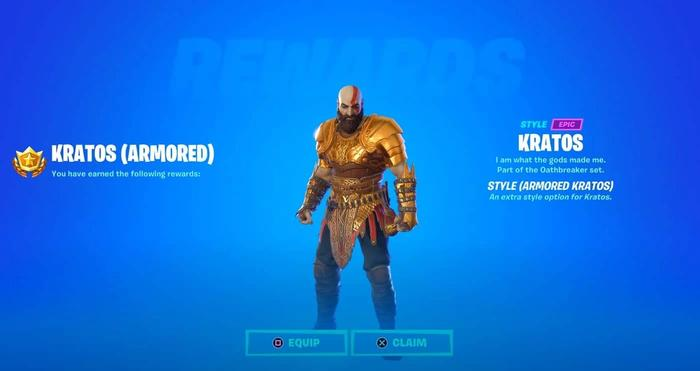 There is a secret style for Kratos that only certain players can get.