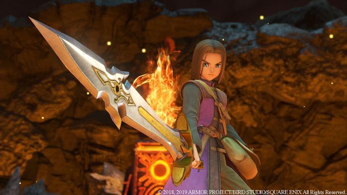 Dragon Quest XI Nintendo Switch Key Art