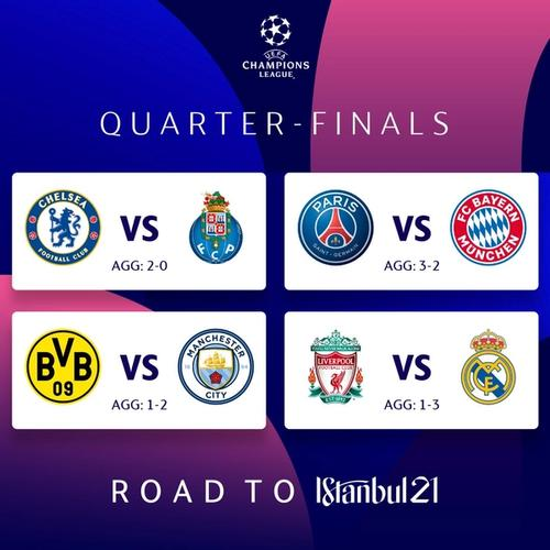 uefa champions league quarter finals second leg