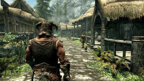 The Elder Scrolls V Skyrim Key Art