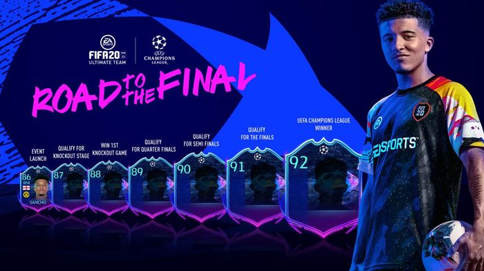 FIFA 21 Road to the Final Upgrade Path FIFA 20