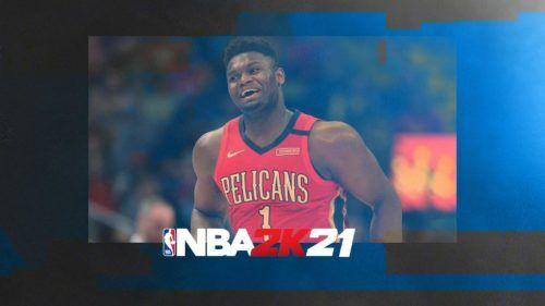 NBA2k21 zion