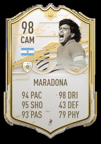 maradona icon moments