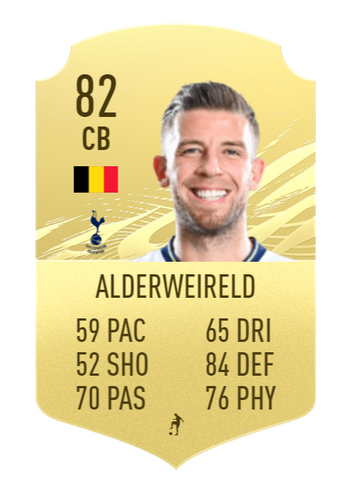 FIFA 22 Toby Alderweireld