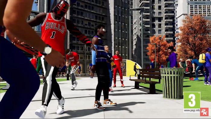NBA 2K21 the city 1