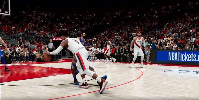 NBA 2K21 dribbling next gen