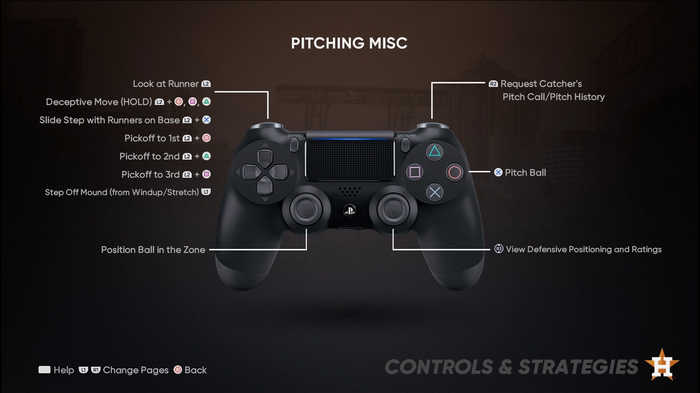 CATCH ALL CONTROLS: You'll need to know each of these no matter what