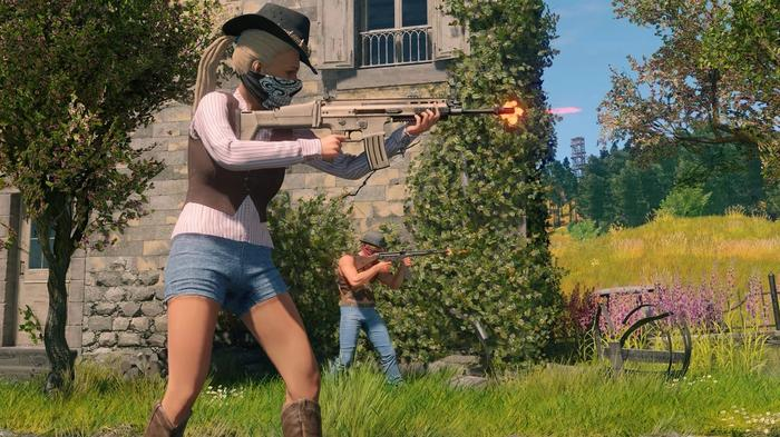 PS4 Update Free Game PS5 CRSED F.O.A.D. Battle Royale MMO Shooter