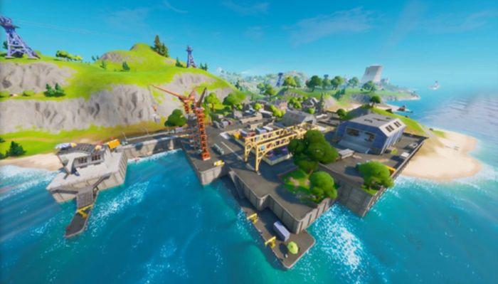 Fortnite dirty docks coastal area 1