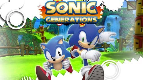 sonic generations gaames with gold