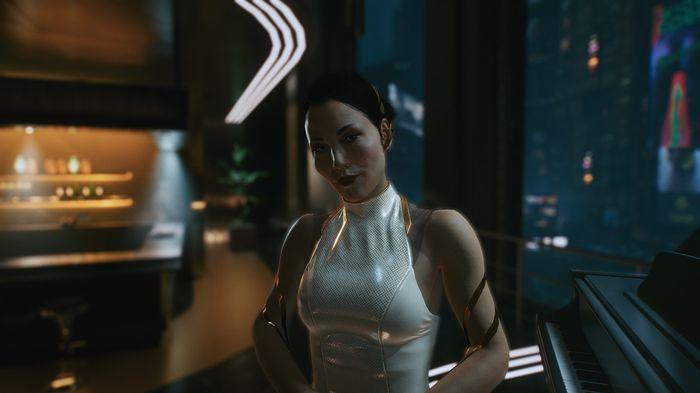 Cyberpunk 2077 PS Store Night City Woman