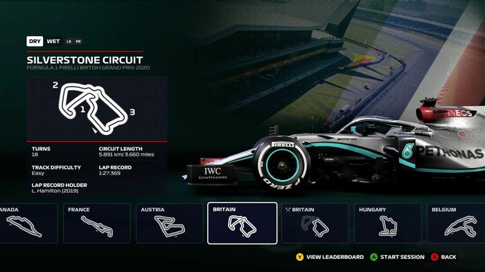 F1 2020 Time trial