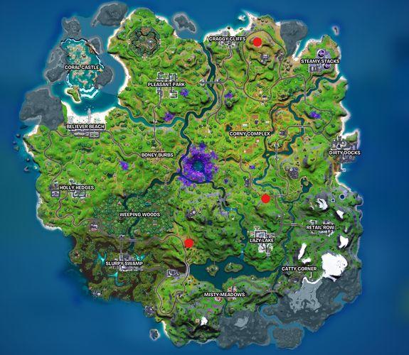 Fortnite Sapling Locations