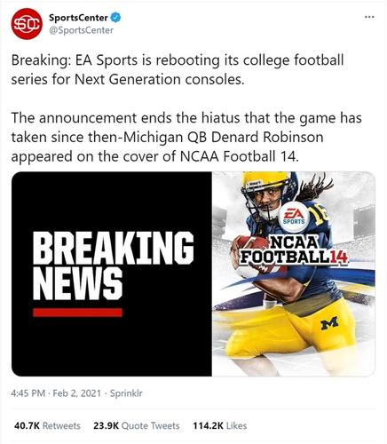POPULAR: This has got fans excited and shows the potential for EA