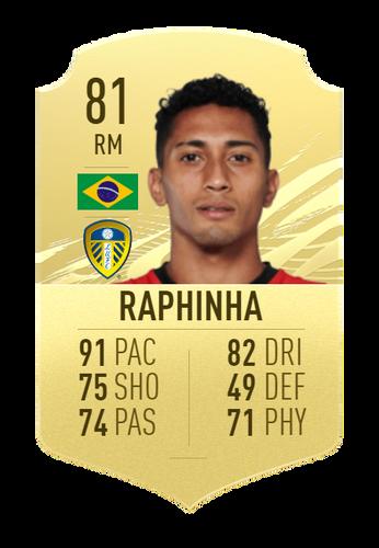raphinha fifa 21 ultimate team