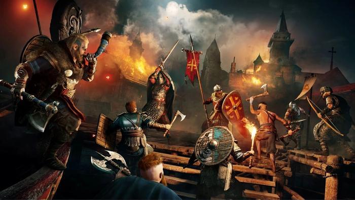 assassins creed valhalla war battle ancient britain