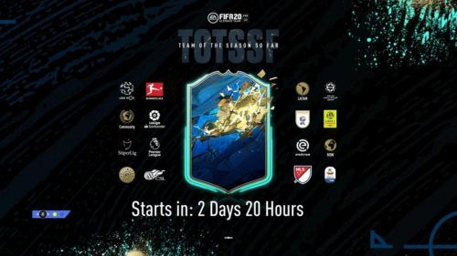 fifa 20 totssf loading screen teams confirmed