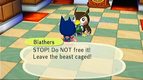 Blathers animal crossing museum