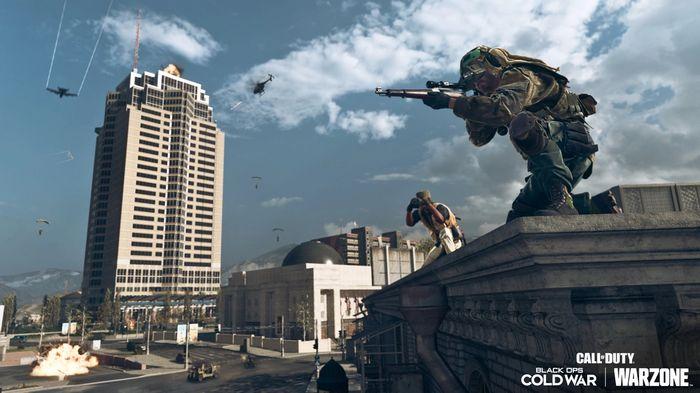 Warzone Season 4 Download Size Nakatomi Plaza