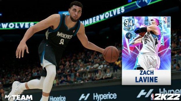 Zach Lavine in NBA 2K22