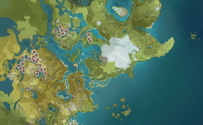 Genshin Impact Jueyun Chili Locations
