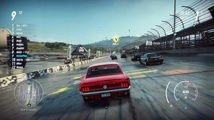 EAGER TO GET STARTED: We can't wait to play NFS on next-gen