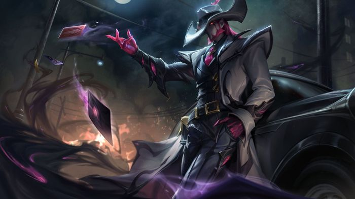 League of Legends Crime City Nightmare Twisted Fate Skin
