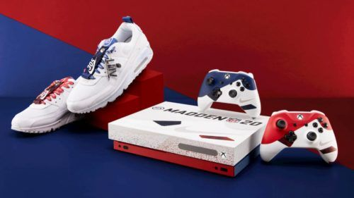 A special edition Xbox One X and Nike Air Max 90 shoes!