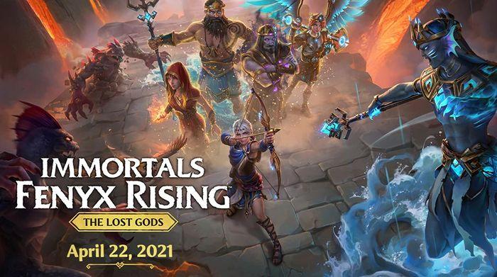 Immortals Fenyx Rising The Lost Gods DLC Release Date Announcement