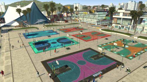 NBA 2K21 Neighborhood 2K Beach Park