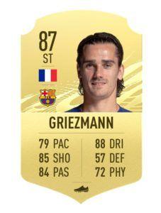 FIFA 21 Antoine Griezmann