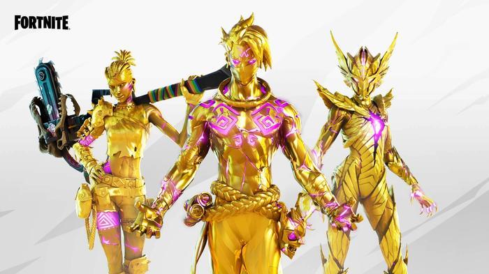 Fortnite Season 6 Golden Style
