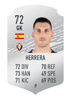 Herrera La Liga FIFA