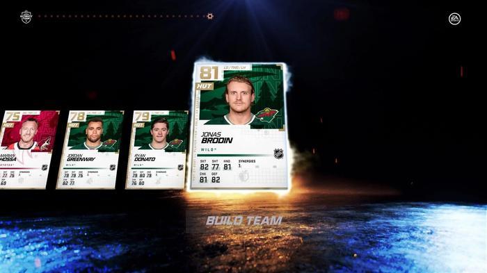 NHL 21 HUT packs